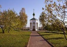 Capilla del monasterio de la transfiguración de Murom Fotos de archivo