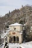 Capilla del monte del sacro, Varese Fotografía de archivo