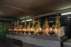 Capilla del pilar de la ciudad, Bangkok, Tailandia imagen de archivo libre de regalías