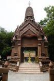 Capilla del pilar de la ciudad de Kamphaengphet en la ciudad de centro en Kamphaeng Phet, Tailandia Fotografía de archivo