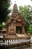 Capilla del pilar de la ciudad de Kamphaengphet en la ciudad de centro en Kamphaeng Phet, Tailandia Foto de archivo