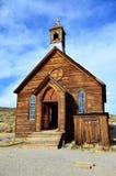 Capilla del pueblo fantasma Fotografía de archivo