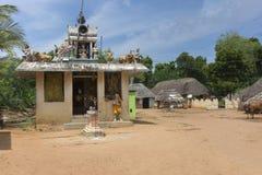 Capilla del pueblo para la diosa Mariamman, Parvati Fotos de archivo libres de regalías