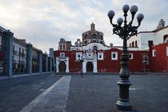 Capilla del Rosario catholic church, Puebla, Mexico Royalty Free Stock Photos