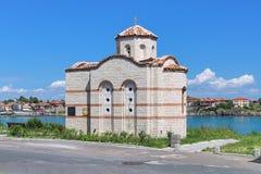 Capilla del ` s de San Jorge en Sozopol, Bulgaria Imagen de archivo libre de regalías