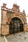 Capilla del Santo Cristo de la Salud, Oud San Juan royalty-vrije stock foto