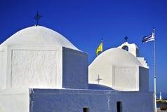 Capilla del santo Nicolás en Aegina Grecia Imágenes de archivo libres de regalías