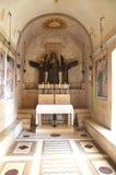 Capilla del St Benedicto, Monte Cassino Imagenes de archivo