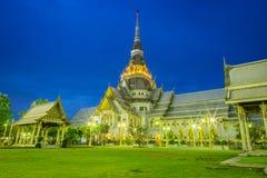 Capilla del templo tailandés Imagenes de archivo