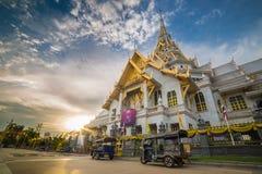 Capilla del templo tailandés Foto de archivo libre de regalías