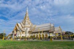 Capilla del templo tailandés Fotografía de archivo