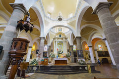 Capilla Echt o DE Naturales, Convento DE San Gabriel royalty-vrije stock foto's