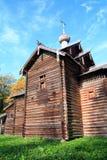 Capilla en aldea Imagenes de archivo