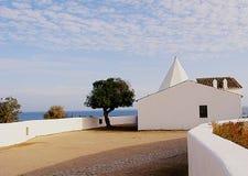Capilla en Algarve foto de archivo libre de regalías
