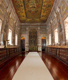 Capilla en el claustro Sao Vicente de Fora Lisboa Fotos de archivo
