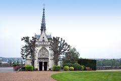 Capilla en el d'Amboise Loire Valley, Francia del castillo francés imagen de archivo