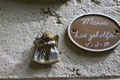 Capilla en el hilf de Maria en Alemania del sur fotografía de archivo
