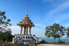 Capilla en el mar, Tailandia Fotografía de archivo