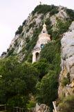 Capilla en el monasterio Santuario de Queralt Fotos de archivo libres de regalías