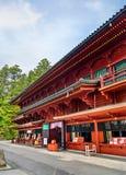 Capilla en el templo de Rinnoji en Nikko Imagen de archivo libre de regalías