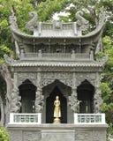 capilla en el templo en Tailandia Foto de archivo libre de regalías