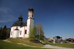 Capilla en el Tyrol. Fotos de archivo libres de regalías