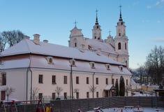 Capilla en el Vilna imagen de archivo