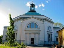 Capilla en Estocolmo (Suecia) imagen de archivo