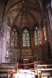 Capilla en la catedral o la iglesia de monasterio en Chester England Foto de archivo