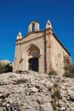 Capilla en la montaña de Montserrat, España Fotografía de archivo libre de regalías
