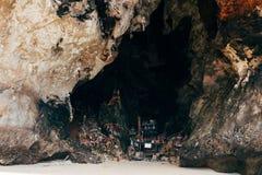 Capilla en la playa de Phranang Foto de archivo libre de regalías