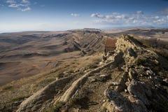 Capilla en las montañas del Cáucaso Fotos de archivo