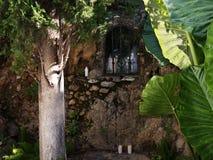 Capilla en Mijas uno de los pueblos 'blancos' más hermosos Fotografía de archivo