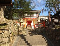Capilla en Nara Imagenes de archivo
