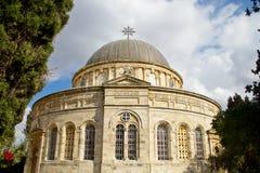 Capilla etíope en Jerusalén imagen de archivo libre de regalías