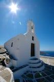 Capilla griega Imagenes de archivo