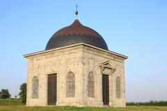 Capilla histórica Walcourt en Francia septentrional Imagenes de archivo