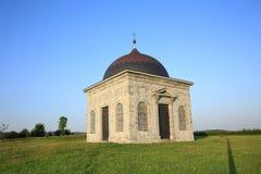 Capilla histórica Walcourt en Francia septentrional Foto de archivo libre de regalías