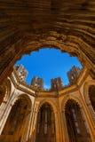 Capilla inacabada en el monasterio de Batalha - Portugal Fotos de archivo libres de regalías