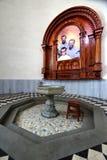 Capilla a los sacerdotes asesinados en San Pedro Cathedral en nuevo Chimbote Perú imagen de archivo libre de regalías