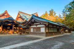 Capilla magnífica de Ise Jingu NaikuIse - capilla interna en Ise City, Mie Prefecture Imagen de archivo