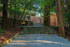 Capilla magnífica de Ise Jingu NaikuIse - capilla interna en Ise City, Mie Prefecture Imagenes de archivo