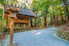 Capilla magnífica de Ise Jingu NaikuIse - capilla interna en Ise City, Mie Prefecture Foto de archivo libre de regalías