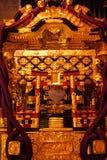 Capilla portátil (Mikoshi) Imágenes de archivo libres de regalías