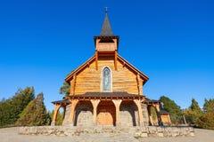 Capilla San Eduardo, Bariloche Stock Photography