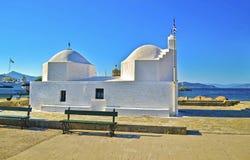 Capilla San Nicolás el Thalassinos Aegina Grecia Fotos de archivo libres de regalías