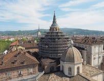 Capilla santa de la cubierta en Turín Foto de archivo