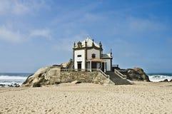 Capilla Senhor a Dinamarca Pedra, Portugal Fotos de Stock