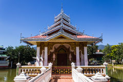Capilla Shan Style en Wat Nong Kok Kam Fotografía de archivo libre de regalías