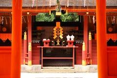 Capilla sintoísta japonesa Foto de archivo